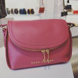 Marc Jacobs The Groove Leather Mini Messenger Bag