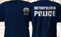 Metropolitan Police Washington District Of Colombia Navy Vers 2 T-Shirt S-4XL