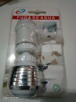 Economizador Grifo Boquilla filtro de agua ahorro Aireador Difusor de abrazadera