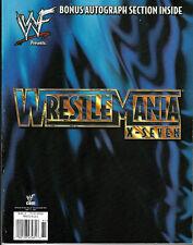 WWE WRESTLEMANIA X7 WM17 OFFICIAL ORIGINAL EVENT PROGRAM EXCELLENT CONDITION