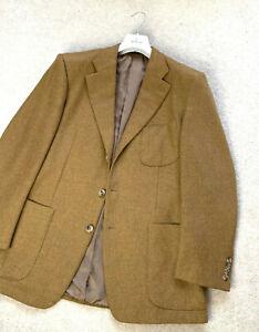 Men's ERMENEGILDO ZEGNA CASHMERE MOHAIR Sport Blazer Coat Jacket UK 44 EU 54