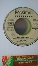Robin Gibb / Bee Gees ‎– How Old Are You / Life Goes On -  (Single juke - 7-5424