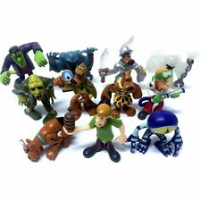 11pcs Toy Scooby Doo Shaggy Fred Velma Daphne Scheletro Vampire 2.5in. Figure