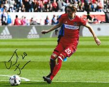 Daniel Johnson signed Chicago Fire MLS Soccer 8x10 photo autographed