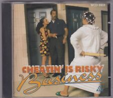 AA.VV. cheatin' is risky business  #   CD USATO Ex/nM