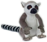 NATIONAL GEOGRAPHIC LEMUR PLUSH SOFT TOY 24CM STUFFED ANIMAL - BNWT