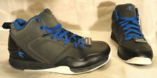AND1 CAPITOL, MENS BLACK/ROYAL BLUE HI-TOP ATHLETIC SHOES, SIZE 7, NEW FREE SHIP