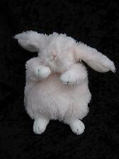 "Bunnies By The Bay Pink White Bunny Rabbit Beanbag Soft Plush Stuffed Animal 6"""