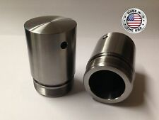 "Harley 49mm Fork Tube 2"" Extensions for Dyna Street Glide Dresser Breakout V-Rod"