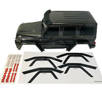Traxxas TRX-4 TRX4 Mercedes-Benz G 500 4x4 Black Body Shell 8811 Decals New