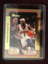 2003-04 Bowman Gold Hornets Baron Davis Card #107