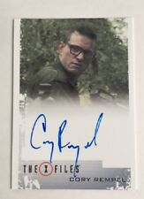X-Files Seasons 10 & 11 Cory Rempel as Young Walter Skinner Autograph