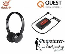 Deteknix Universal Radio Cuffie METAL DETECTOR GARRETT Minelab Tesoro Fisher