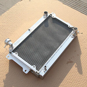 For Mazda RX2 RX3 RX4 RX5 RX7 Series 1 2 3 2 Rows Aluminum Radiator MT 1975-1983