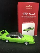 Plymouth Superbird, 1970 Classic American Cars 2020 Hallmark Ornament