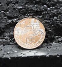 FRANCE : 10 euros des régions argent CHAMPAGNE ARDENNES 2011.