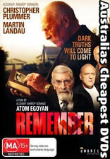 Remember DVD NEW, FREE POSTAGE WITHIN AUSTRALIA REGION 4