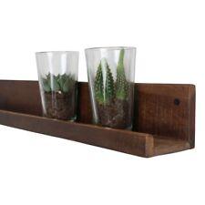 Wandregal Regal Schweberegal Gewürzregal Vintage aus Holz Altholz 75 x 8 x 8 cm