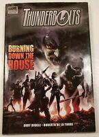 Thunderbolts Burning down the House Hardcover 2009 Marvel Comics Graphic Novel