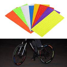 6 Farben Fahrrad reflektierende Aufkleber Fahrrad Rad reflektierende Aufkleber