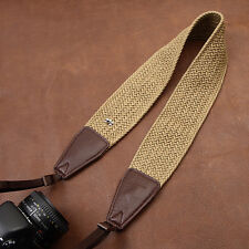 Wide Strap DSLR SLR Camera Shoulder Strap Neck Belt Hand Grip Depressurize Strap