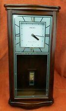 More details for vintage quartz seiko westminster whittington chiming pendulum wall clock wqz