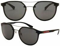 Prada Sport Herren Damen Sonnenbrille SPS55S DG0-5S0 53mm schwarz F DL2 H