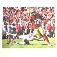Dante Pettis San Fransico 49ers Signed Autograph Mini Helmet JSA Witnessed Certified