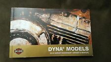 2016 Harley Davidson Dyna Owners Manual, FXDL, FXDWG, FXDB, FXDF, FLD, FXDP, FXD