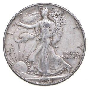 1941-D Walking Liberty 90% Silver US Half Dollar *552