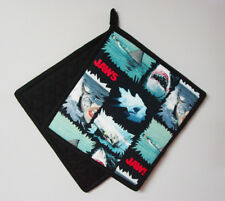 "Jaws - Attack Style - Handmade 9x9"" Pot Holder"