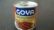 Goya Chipotle Peppers in Adobo Sauce, 7 oz, Pack of 12