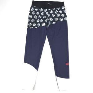 NEW Adidas Stella McCartney Run Leggings Tennis Yoga Gym Pants Floral Size S