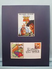 Toy Story 2 - Woody, Jessie & Buzz Lightyear  & First Day Cover of its own stamp