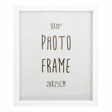 WHITE  PHOTO FRAME   8x10 inches