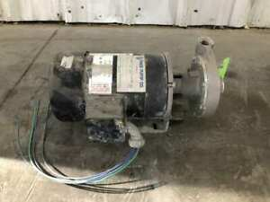 Price Pump CD100SS Series 1.5HP SS Close Coupled Centrifugal Pump 3450RPM 3PH