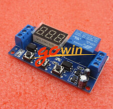 24V LED Display Automation Digital Delay Timer Switch Relay Module