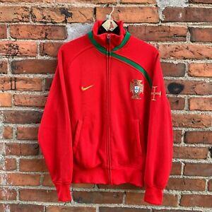 Nike Portugal Track Jacket UEFA Euro 2008 Licensed Men's M
