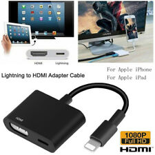 Lightning to HDMI Digital TV AV Adapter Cable For iPad iPhone 11 Pro Xs 7 8 6s +