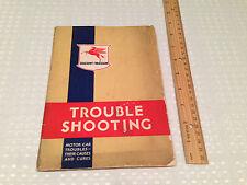 Vintage 1934 SOCONY-VACUUM Trouble-Shooting/Auto Car Mechanic Guide Standard Oil