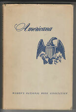 AMERICANA AS TAUGHT TO THE TUNE OF A HICKORY STICK - WOMEN'S NATIONAL BOOK ASSOC