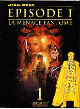 STAR WARS EPISODE 1 LA MENACE FANTOME N°1  EDITIONS DELCOURT