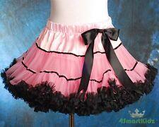 Pink Girl Tulle Pettiskirt Dance Party Skirt Size 2-3