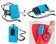 Handytasche Handybeutel Brustbeutel für Handy und Smartphone verschiedene Farben