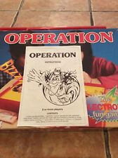 1996 OPERATION GAME REPLACEMENT SPARE PARTS - INSTRUCTIONS