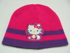 HELLO KITTY - ACRYLIC - YOUTH SIZE - STOCKING CAP BEANIE HAT!