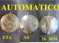 vecchio movimento automatico as eta movement automatic old watch parts vintage