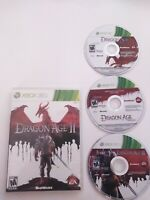 Dragon Age Lot: Origins Ultimate Dragon Age 2 II Microsoft Xbox 360 Bundle Combo