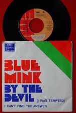 """BLUE MINK BY THE DEVIL/I CAN'T FIND THE ANSWER 1972 RARE EXYU 7"""" PS"""