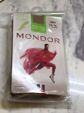 Mondor Rayon From Bamboo 3301  Ice Skating Tights 82 Suntan  Size 12-14